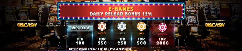 e-games daily reload bonus 12%